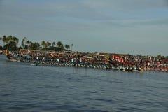 Corsa 2017 del crogiolo di trofeo di Nehru nel Kerala fotografie stock
