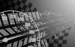 Corsa del fondo quadrato, astrazione dell'illustrazione di vettore nel rac illustrazione vettoriale