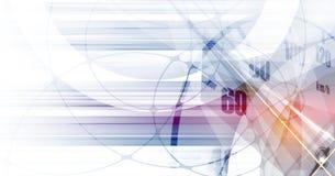 Corsa del fondo quadrato, astrazione dell'illustrazione di vettore nel rac illustrazione di stock