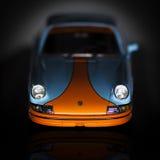 Corsa del golfo di Porsche 911 Rs Immagini Stock