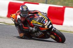 Corsa del GP di Moto - Colin Edwards Fotografia Stock Libera da Diritti