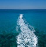 Corsa del jetski Fotografia Stock Libera da Diritti