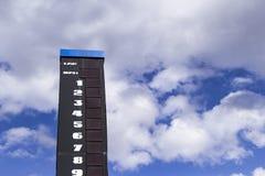 Corsa del leaderboard Immagini Stock