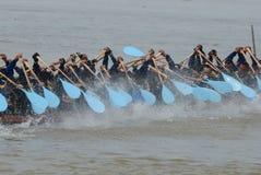 Corsa del Longboat Immagine Stock Libera da Diritti