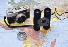 Corsa del mondo Fotografia Stock