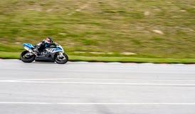Corsa del motociclo Fotografia Stock