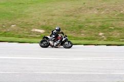 Corsa del motociclo Fotografie Stock