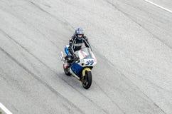 Corsa del motociclo Immagini Stock