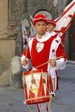 Corsa Del Palio w Siena, Tuscany, Włochy zdjęcia royalty free