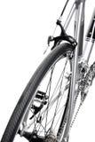 Corsa del particolare della bici Immagini Stock Libere da Diritti