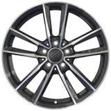 Corsa del ritaglio di alluminio della ruota Fotografie Stock