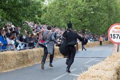 Corsa 2015 del Soapbox di Redbull Immagine Stock