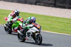 Corsa 006 del Superbike Fotografie Stock Libere da Diritti