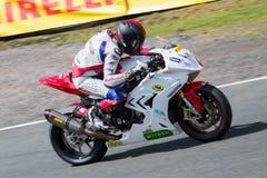 Corsa 008 del Superbike Fotografia Stock Libera da Diritti