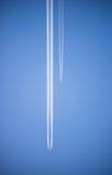 Corsa dell'aereo di linea Fotografia Stock