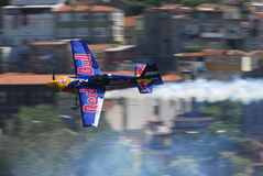 Corsa dell'aria di RedBull Fotografia Stock