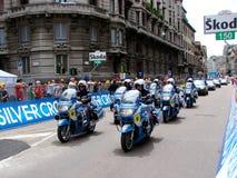 Corsa dell'ultimo di d'Italia di postagiro Fotografie Stock Libere da Diritti