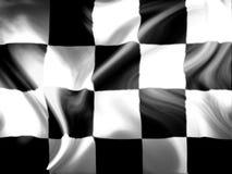 Corsa della bandierina fotografie stock