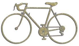 Corsa della bicicletta illustrazione di stock