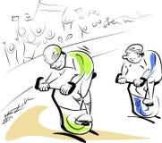 Corsa della bicicletta Fotografia Stock Libera da Diritti