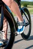 Corsa della bicicletta Fotografie Stock