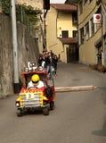 Corsa della casella, Azeglio Italia Immagini Stock Libere da Diritti