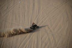 Corsa della collina della sabbia Fotografia Stock Libera da Diritti