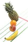 Corsa della frutta. Fotografia Stock