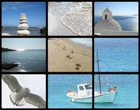 Corsa della Grecia Fotografie Stock Libere da Diritti