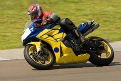 Corsa della motocicletta. Immagini Stock Libere da Diritti