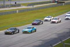 Corsa della tazza di Aston Martin Asia Immagini Stock Libere da Diritti