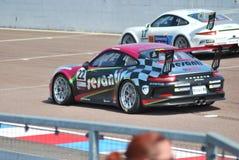 Corsa della tazza di Porsche immagini stock libere da diritti