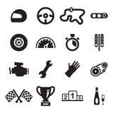 Corsa delle icone Fotografia Stock Libera da Diritti