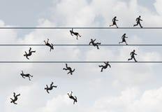 Corsa di affari Fotografia Stock Libera da Diritti