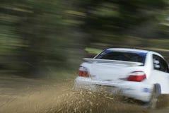 Corsa di automobile immagini stock