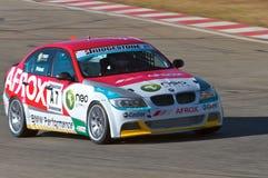 Corsa di automobile di produzione di BMW Fotografia Stock Libera da Diritti