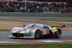 Corsa di automobile (Ford GT, FIA GT) Fotografia Stock Libera da Diritti