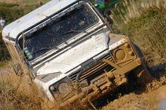 Corsa di avventura di incursione 4X4 Fotografie Stock