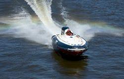 Corsa di barca Immagini Stock