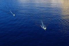Corsa di barca Fotografie Stock Libere da Diritti