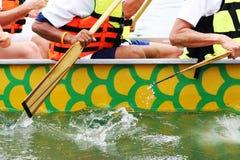 Corsa di barca Fotografia Stock Libera da Diritti