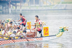 Corsa di barca del drago fotografie stock libere da diritti
