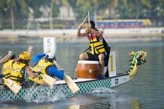 Corsa di barca del drago Fotografia Stock Libera da Diritti