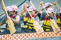 Corsa di barca del drago Immagine Stock Libera da Diritti