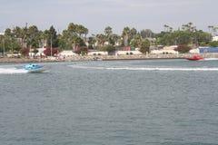 Corsa di barca di velocità di Long Beach fotografia stock