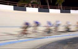 Corsa di bicicletta Immagini Stock Libere da Diritti