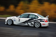 Corsa di BMW Fotografie Stock