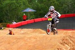 Corsa di carnevale 2010 BMX della bici di montagna di Singapore Fotografia Stock