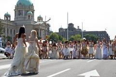 Corsa di cerimonia nuziale Fotografia Stock Libera da Diritti
