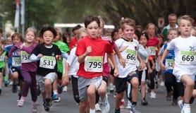 Corsa di Chilrens Fotografia Stock